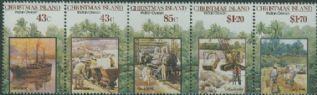 CHI SG316a Centenary of First Phosphate Mining Lease strip of 5